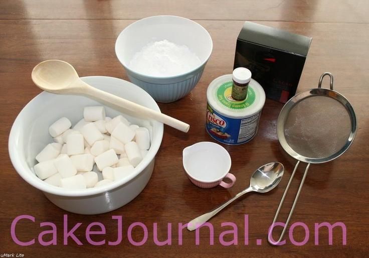 Cake Boss Decorating Icing Recipe : 53 best images about Fondant/ gumpaste on Pinterest How ...