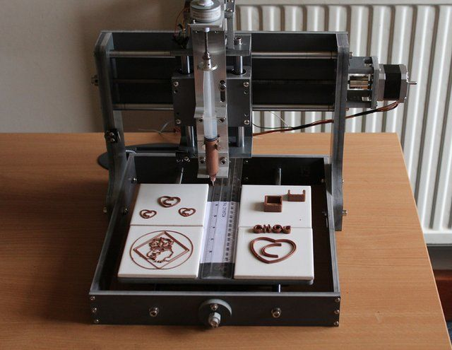3D Chocolate Printer. So buying this before HP tries to patent ink cartridges for it. Click for details.