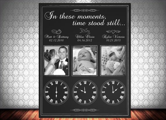 In These Moments Time Stood Still, Time Stood Still, Wall Decor, Any SIze, Any Color, Printable - love this!