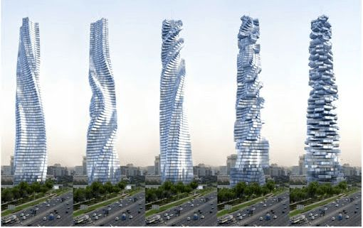 Dubai construirá primer rascacielos giratorio Dubai planea tener uno de los rascacielos más impresionantes del mundo. Se trata de una torre de 8o pisos que pueden girar 360 grados de manera independiente  http://wp.me/p6HjOv-3en ConstruyenPais.com
