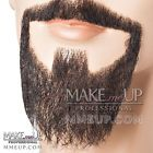 Black Goatee Beard Mustache Hair Makeup stage Theatrical costume circle Van Dyke