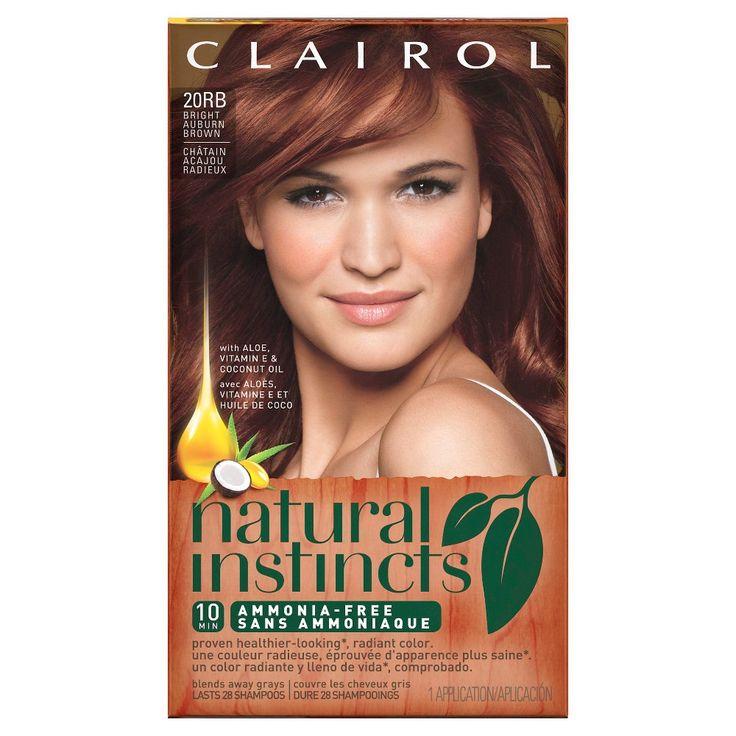 Clairol Natural Instincts 32 Burgundy