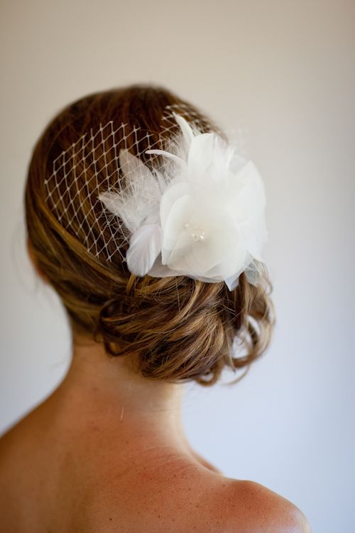 Elegant hair style for Lake Tahoe bride - photos by Catherine Hall Studios | junebugweddings.com