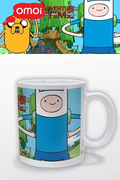 Adventure Time Finn & Jake muki - 10,00EUR : Omoi.fi, anime, manga ja cult oheistuotteiden verkkokauppa