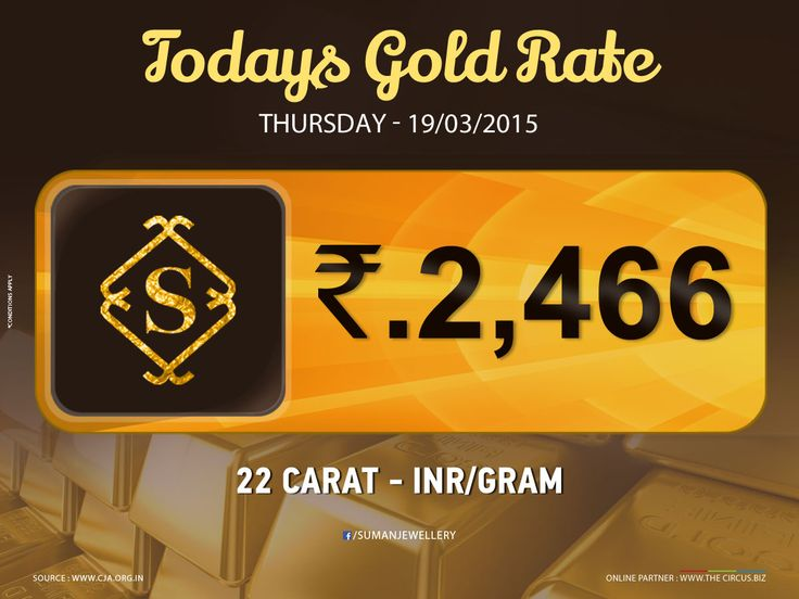 Good Morning ! Latest #gold_rate at #suman_jewellery  #market_rate #TamilNadu