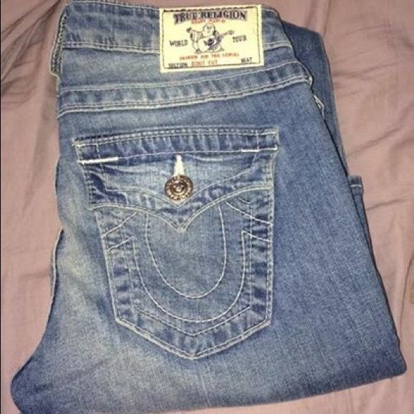 True Religion jeans Brand new without tags worn once True Religion Jeans Boot Cut