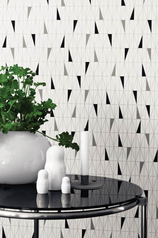 Boråstapeterin Wallpapers by Scandinavian Designers on tapettimallisto, joka esittelee klassista skandinaavista muotoiluperintöä uudella tavalla. Värisilmä. http://kauppa.varisilma.fi/seinanpaallysteet/nonwoven-tapetit/scand_designers #tapetti