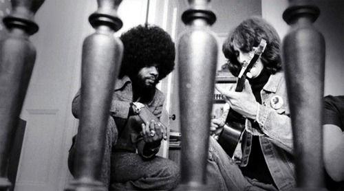Billy Preston and George Harrison
