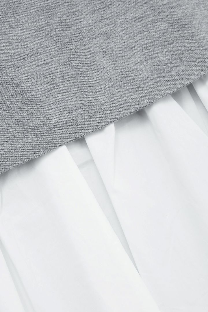 COS image 15 of Top with layered back in Grey