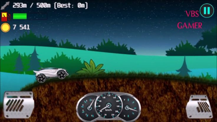 Alien Planet Hill Racing Babies Android Gameplay Night