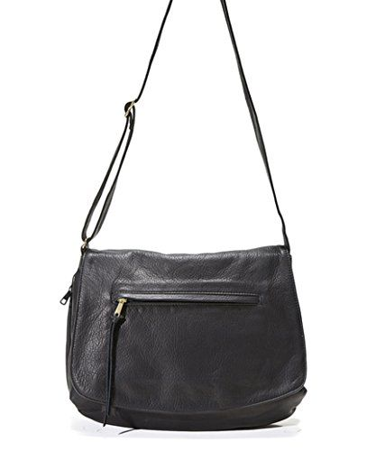 Concealed Carry Purse - Monterey Flap Leather Bag by Coronado Leather