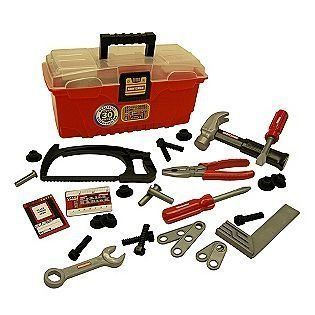 My First Craftsman Toy Toolbox with Plastic Tools * More info could be found at the image url.