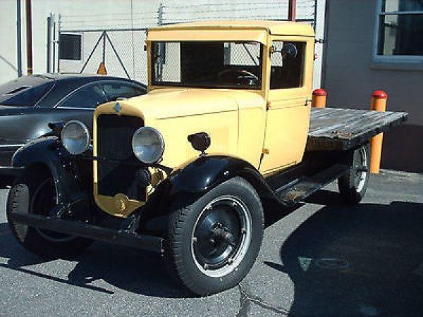 Chevrolet : Other Pickups FLATBED 1930 Chevrolet Pickup Flatbed, 3 spd + 1 granny spd tranny, 36k original miles - http://www.legendaryfind.com/carsforsale/chevrolet-other-pickups-flatbed-1930-chevrolet-pickup-flatbed-3-spd-1-granny-spd-tranny-36k-original-miles/