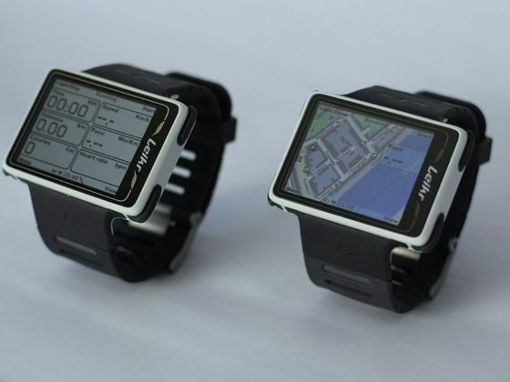 """Leikr: The new Danish designed GPS sports watch by The Leikr Team, via Kickstarter.  1st GPS watch w/ color maps on a 2"""" screen, Leikr challenges how intuitive a watch can get: one-glance display, downloadable workouts."""