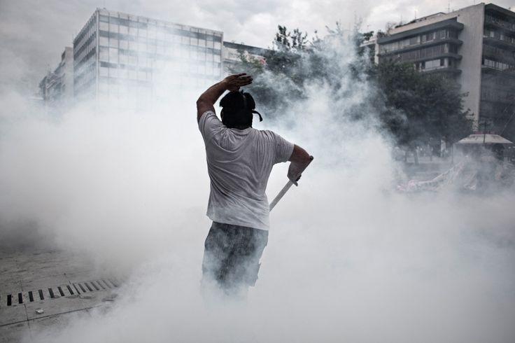 2015 Crise Grega Foto por DIMITRIS MICHALAKIS