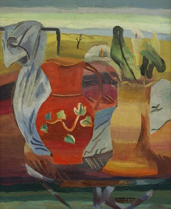 Berries and Laurel; Frances Hodgkins; circa 1930; 1982/46/2 - Auckland Art Gallery Toi o Tāmaki on NZMuseums