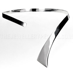 Silver Tie Collar - 8mm | Silver Jewellery