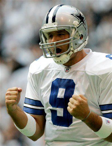 Tony Romo, Dallas' quarterback.
