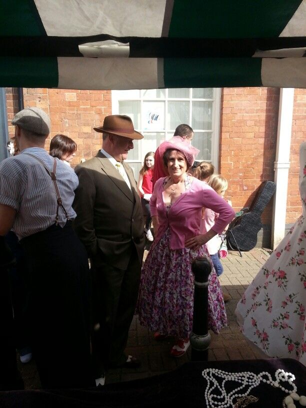 Ve vintage festival, lovely visitors