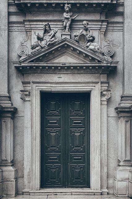 Door in Ferrara, Italy