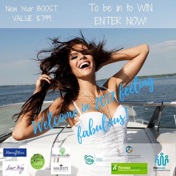 Want to feel fabulous!  Enter our competiton to be in to win! Share with friends and family then follow the link to enter!