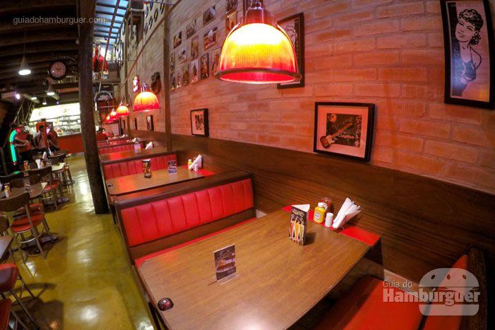 Ambiente - Rodízio de hambúrguer no Chip's Burger