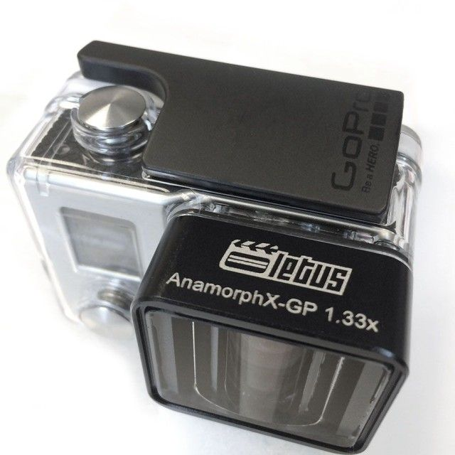 Awesome Anamorphic GoPro Lens For Cinematic Action Movies //
