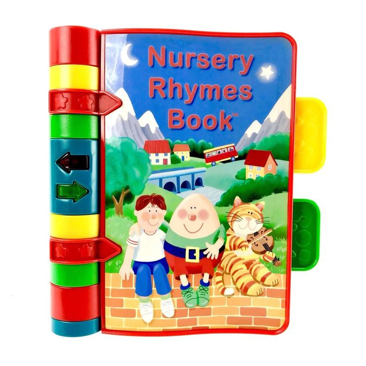 VTech Nursery Rhymes Book Baby Musical Interactive Lights Sounds Music Electric