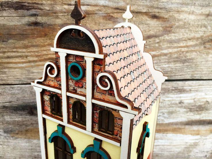 Купить Чайный домик Изумрудный город - домик, конфетница, интерьер кухни, дом, комбинированный