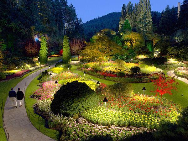 Victoria, Columbia Británica. Jardines Butchart de Victoria, Canadá. Fotografiado por Catherine Karnow con la participación de Taylor Kennedy, vía National Geographic.