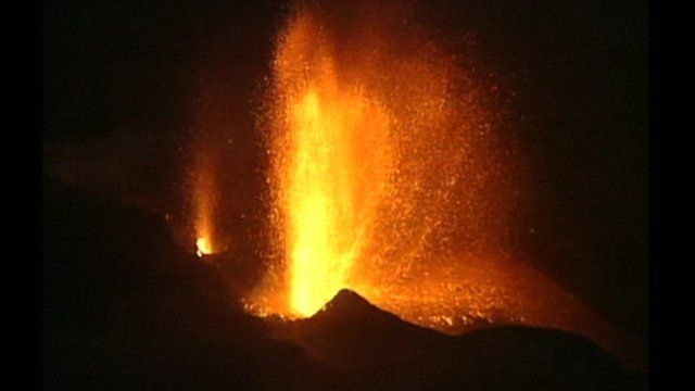 A volcano has erupted on the Cape Verde island of Fogo, resulting in the evacuation of hundreds of residents and the closure of a local airport.