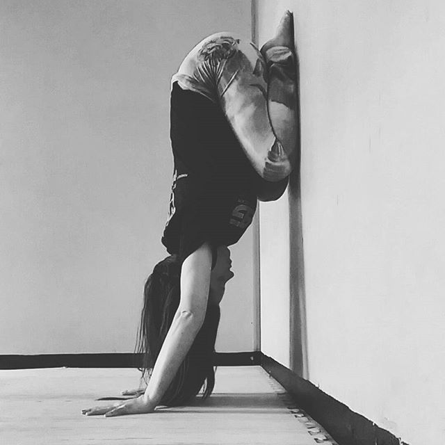 Pin for Later: Forget the Mat! Try These Wall Yoga Poses  Related Stories:This Yoga Sequence Is Even Better Than a Before-Bed Massage