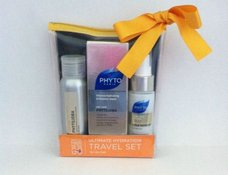 Phyto Paris Hair Care Ultimate Hydration Travel Kit #PHYTOParis
