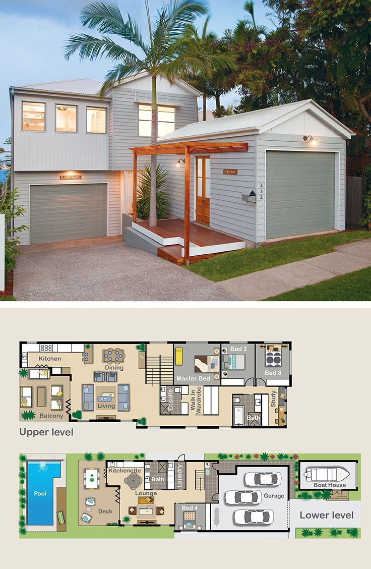 Marvelous Dual Living Options With This. Find This Pin And More On Reverse Living  House Plans ...