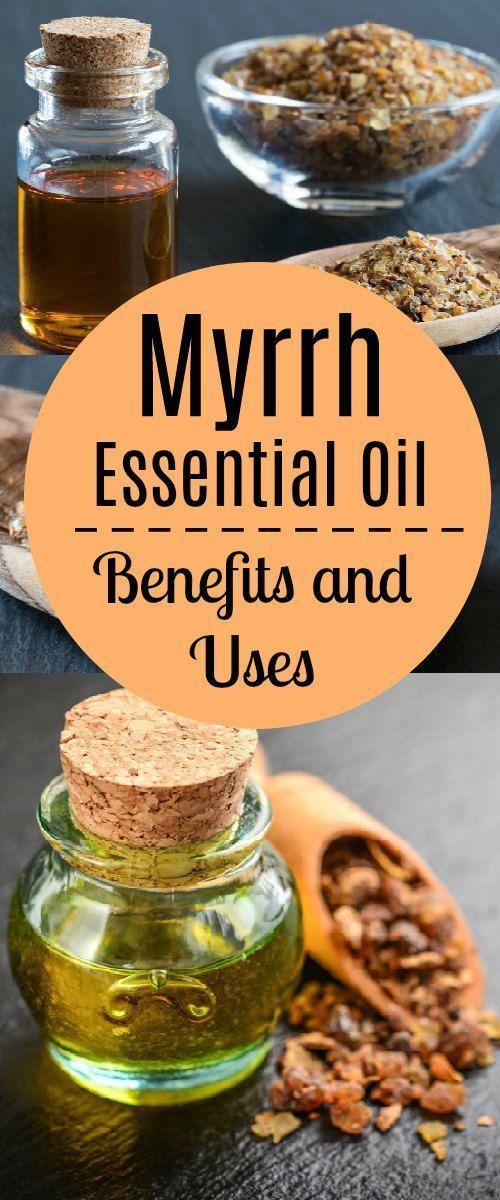 Myrrh Essential Oil Benefits and Uses #EssentialOils #health