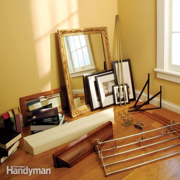 Best 25 Hanging Heavy Mirror Ideas On Pinterest Hang