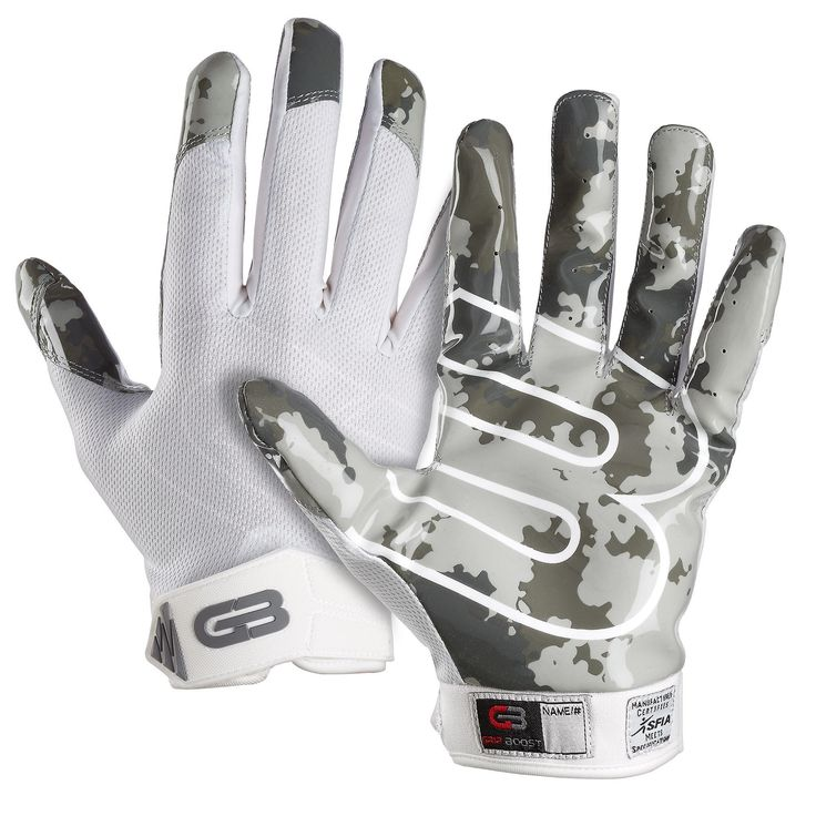 Grip boost stealth football gloves pro elite large size