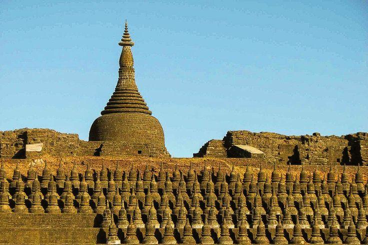 Koe-thaung temple, Mrauk U, Myanmar