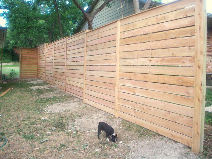 1000 images about horizonal fence on pinterest. Black Bedroom Furniture Sets. Home Design Ideas