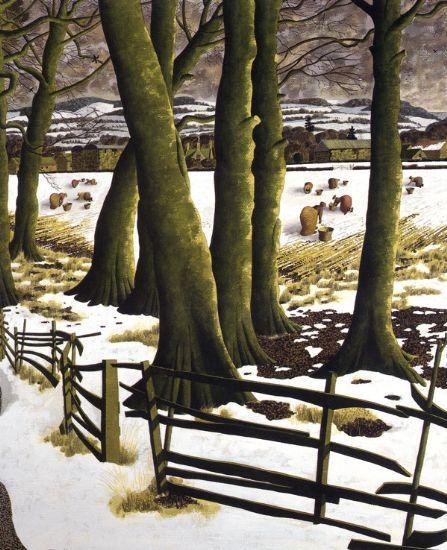 """Harvesting Snow"" ... by Simon Palmer"