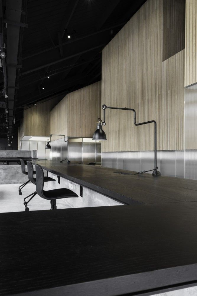 Gallery of flamingo shanghai office neri hu design and for Office einrichtung