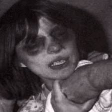 Anneliese Michel, being pinned to the bed