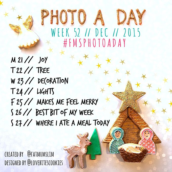 photo a day challenge week 52