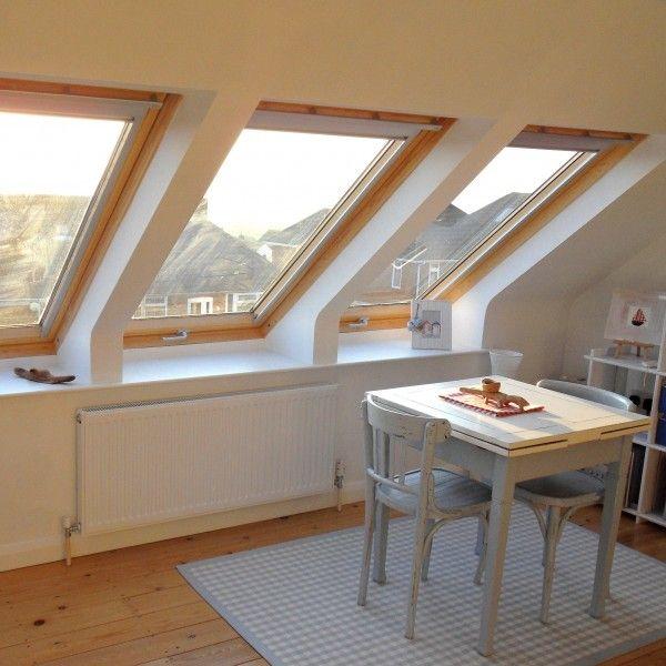 Wat brengen deze drie VELUX dakramen toch een boel daglicht en uitzicht!  Doe inspiratie op via www.velux.nl. #VELUX