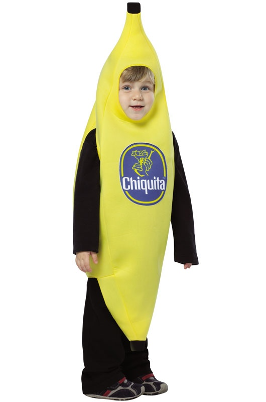 chiquita banana toddler costume - Banana Costume Halloween