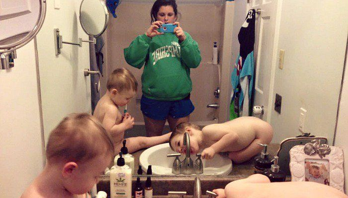 What Honest, Unfiltered Mom Selfies Look Like