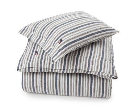 Flannel Stripe Duvet from Lexington Home Fall 2016 Collection. www.lexingtoncompany.com
