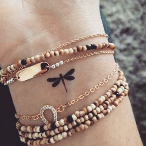 11 Subtle Tattoos For People Who Aren't Quite Sure If They're Ready To Commit | Bustle