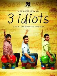 "Cine. Bollywood. ""3 idiots"" (2009) Dir: Rajkumar Hirani. Comedia en el más puro estilo Bollywood. https://www.youtube.com/watch?v=S-LltgOtFSg http://www.filmaffinity.com/es/film591163.html https://www.youtube.com/watch?v=yJ1uLVgv3Vg"