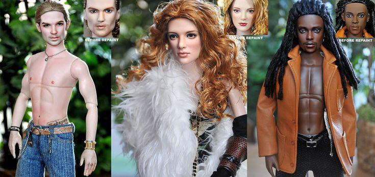 Twilight Vampires dolls